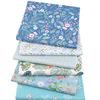 40*50cm 6 pieces of blue floral