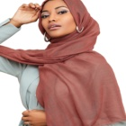 Hot selling muslim scarf women hijab big size 180 cm x 90 cm tr cotton viscose material hijab scarf