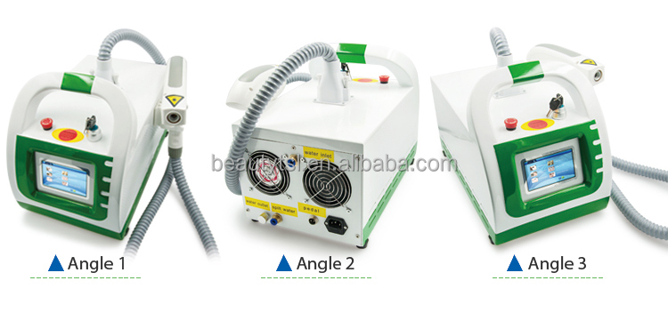 Cheap price for sale 1064nm Long Pulse Nd Yag tatoo removal Laser 755nm Laser tattoo removal machine