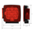 12V Submersible led combination trailer towing tail lights kit