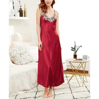 Guangzhou sleeping gown ladies nighty gown women's sleepwear