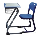 Fashionable school desk and chair of school furniture HK05+KZ99