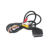 Displayport Cable Av Box 3Rca to Scart Mini Din 10p Braided 9p Male Tv Guangdong 4port Scart 21pin Power Cable