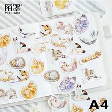 45 шт./кор. мини-наклейки планировщик для скрапбукинга, дневные наклейки, этикетки для печати альбома/дневника, декор, школьные канцелярские ...(Китай)
