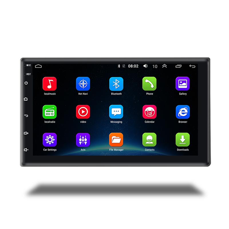 Автомагнитола, 7 дюймов, 9 дюймов, 10,1 дюйма, сенсорный экран, 2 din, GPS, универсальный плеер, Android, автомагнитола