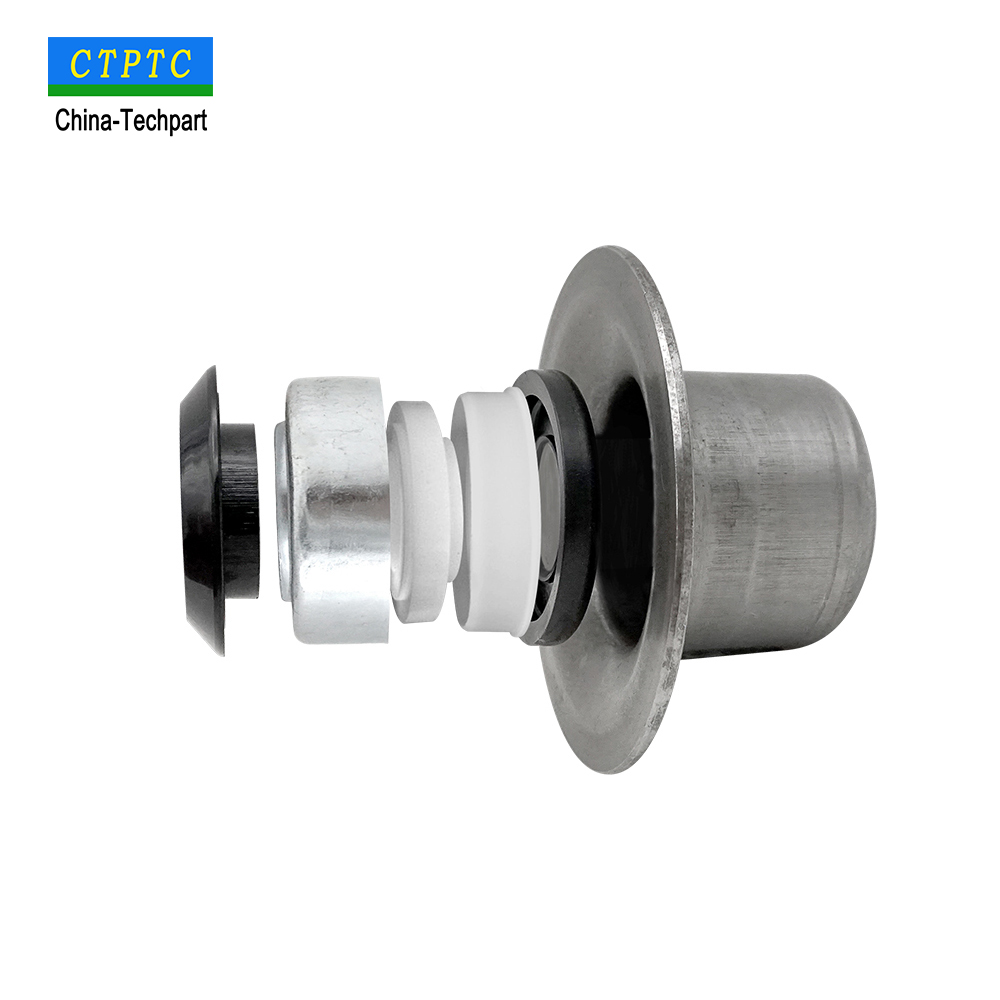 bearing housing for conveyor roller TK6205 - 152 high quality with plastic seals