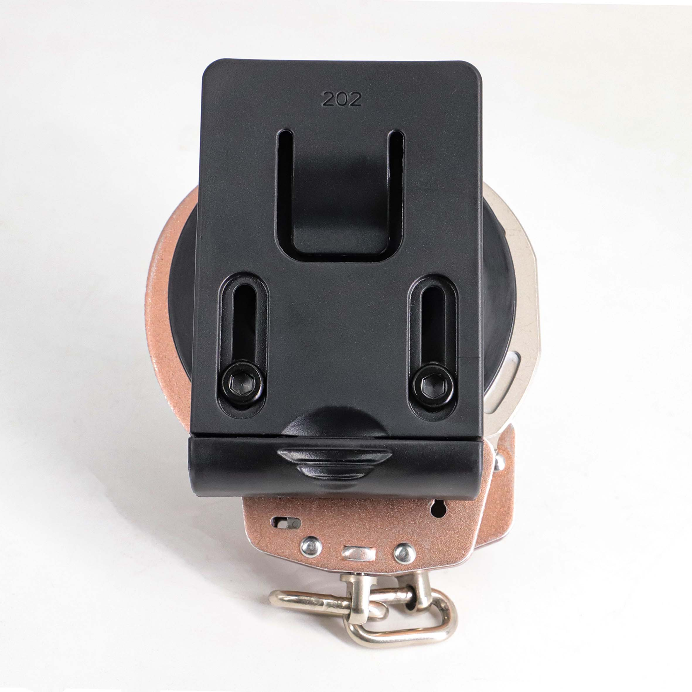 Держатель наручных манжет для правоохранительных органов военный стандарт чехол для наручных манжет черный пользовательский Топ Открытый Чехол для наручных манжет