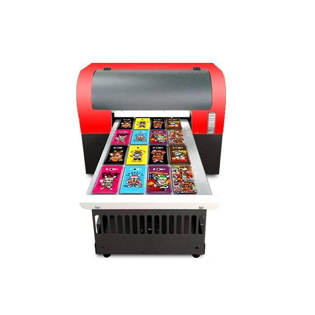 Top Selling Tx800 Printhead T Shirt Phone Case Ceramic Uv Led Flatbed Inkjet Printer