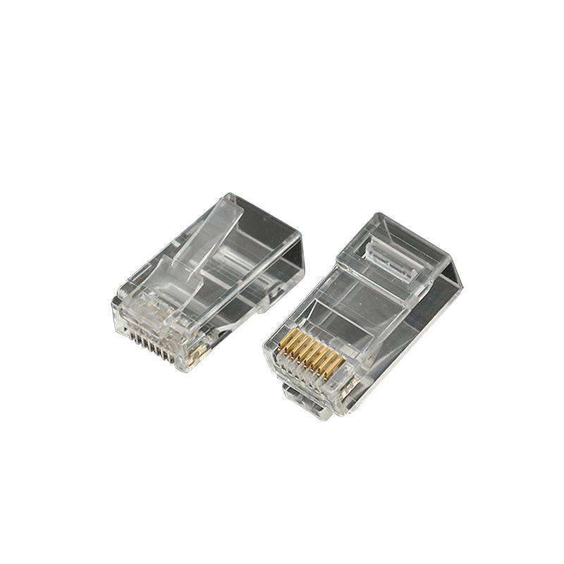 EXW High Quality Cat5E RJ45 Connector Plug Shielded 8P8C
