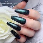 Nail Product Gel Polish Non Wipe Fairy Shimmer Non Wipe Top Base Coat Top Shine Long Lasting