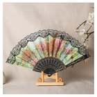 Fan Promotion Promotional Hand Fan Hot Sale Customized Plastic Large Hand Fan Gift Souvenir Promotion