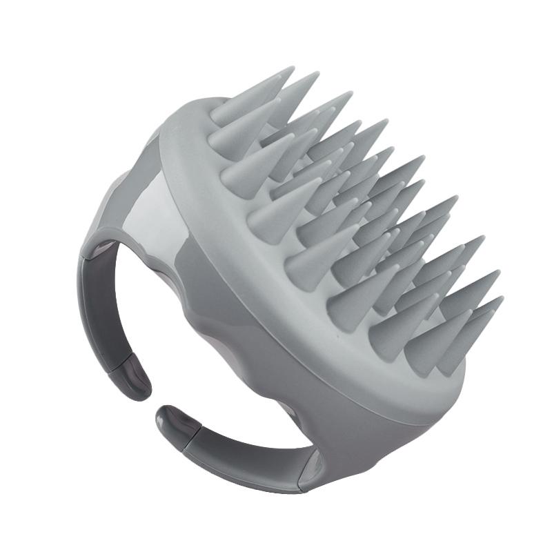 Оптовая продажа, силиконовая расческа для массажа кожи головы