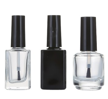 Customized empty nail polish bottle with brush 5ml 10ml 15ml
