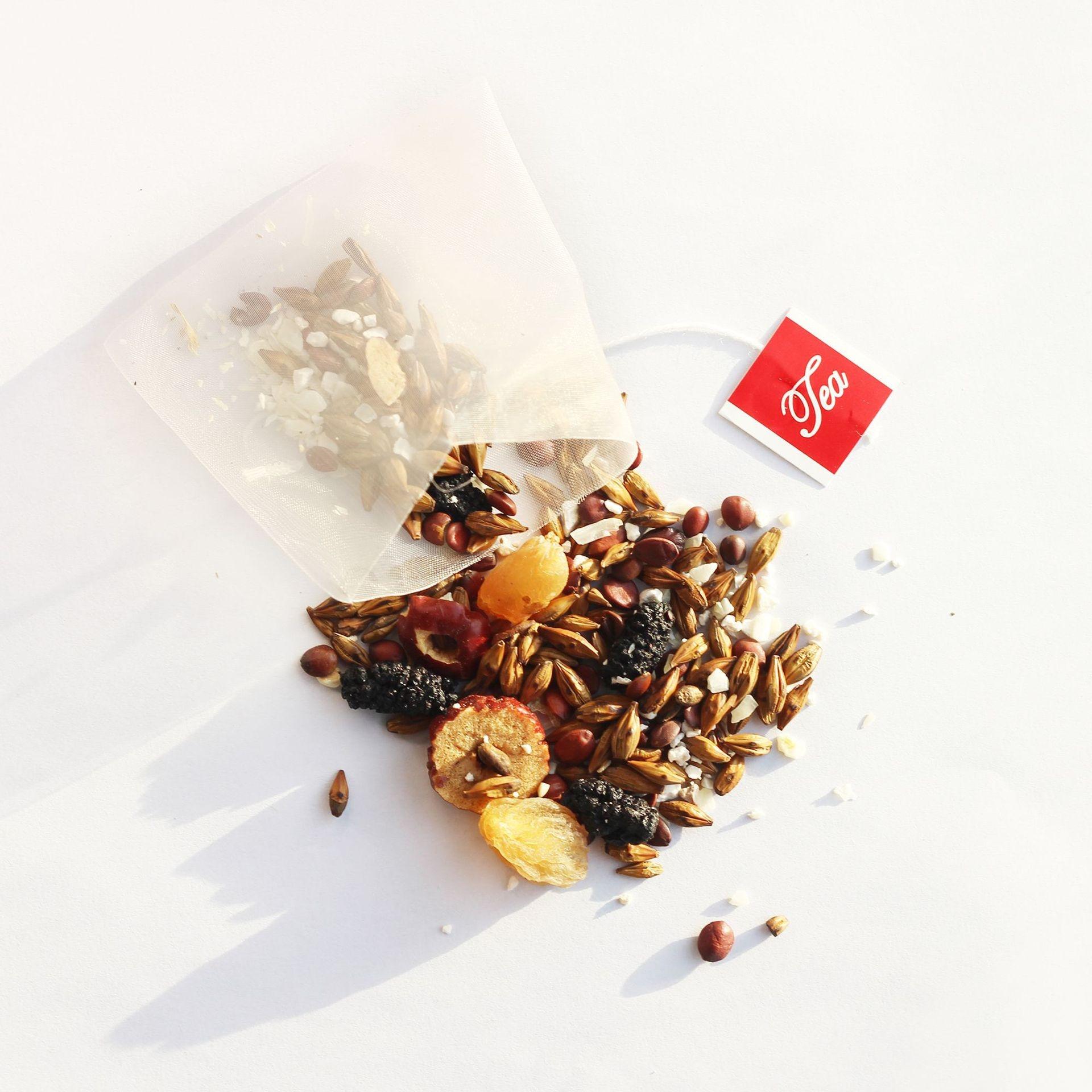 2021 OEM Sleep Aid Organic Wholesale Chinese Natural Herbs Relief Insomnia Tea Dried Mulberry Longan Semen Cassiae Tea Bags - 4uTea   4uTea.com