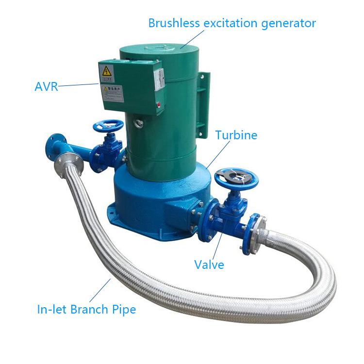 Мини-гидрогенератор, генераторы водяной турбины, турбина pelton для продажи, 50 кВт, гидроэлектрический генератор