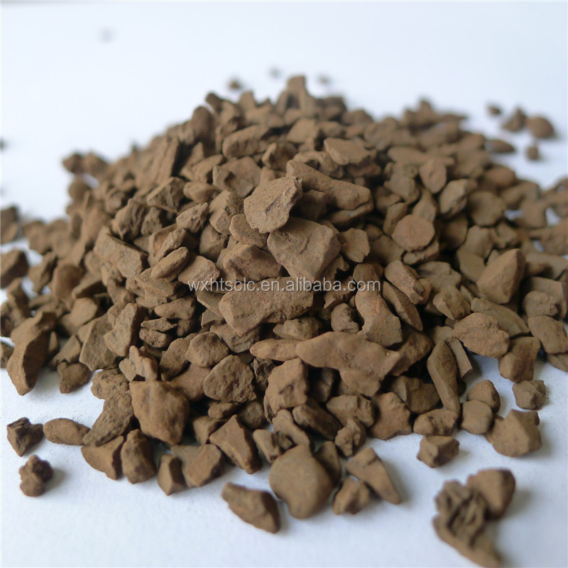 1-2mm Natural Manganese Sand Filter Media for waste water treatment