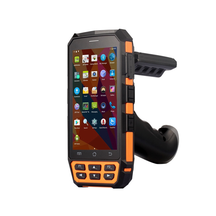 Android 860-960MHz Remote Range Passive epc gen 2 Handheld UHF RFID Reader