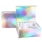 Personalised Craft Fragrance Custom Hologram Surprise Eco Friendly Marble Bridesmaid Magnetic Gift Box Packaging Rose Gold