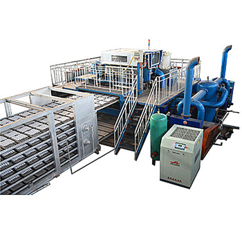 cosmetic manufacturing production line Carton egg tray machine manufacturer /Automatic pulp, egg tray production line