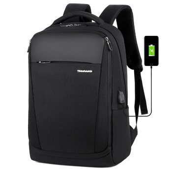 2020 New Arrival Mens Water Proof Nylon Business Backpack With Logo For Laptop