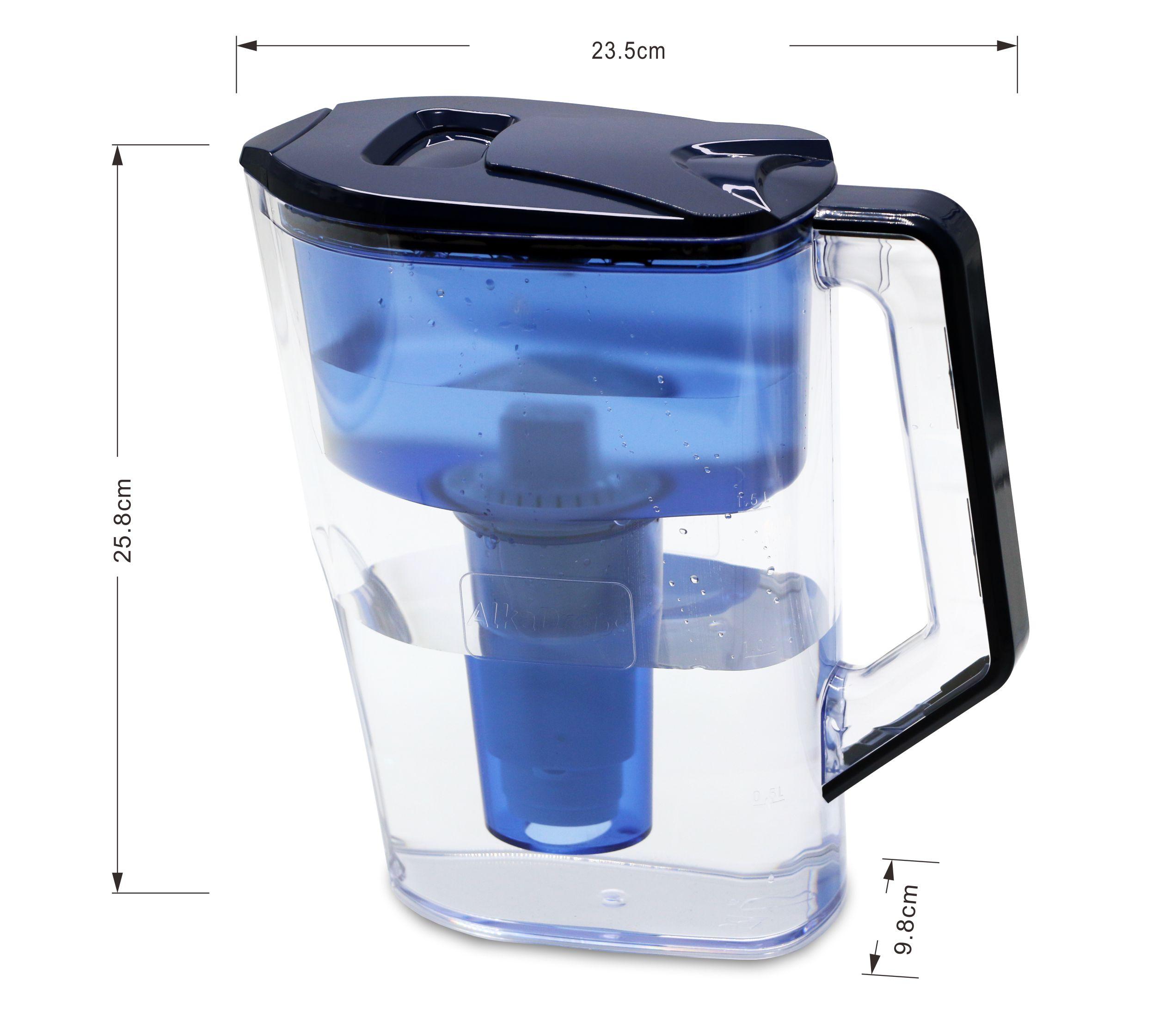 Фильтр для воды кувшин/кувшин для домашнего обихода с 2-х ступенчатый фильтр