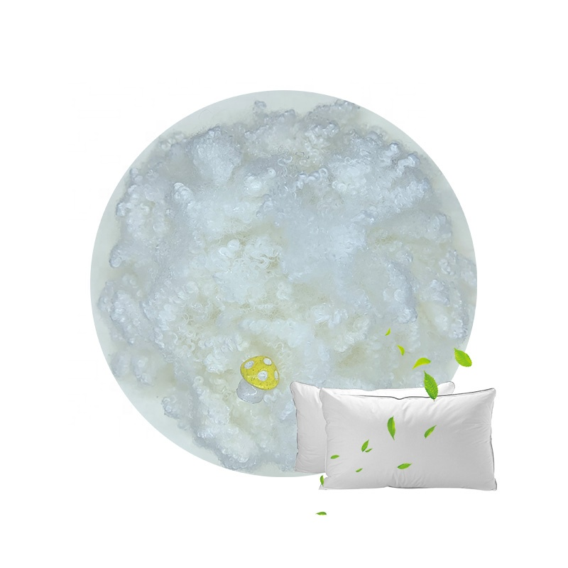 Filling Toy Pillow Sofa Siliconized Polyester Staple Fiber