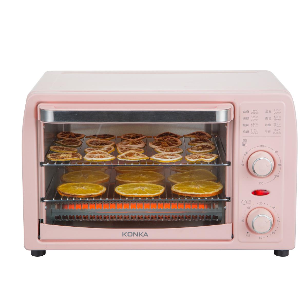 electric oven 13L Konka mini otg pizza baking oven machine price for household kitchen cake bake