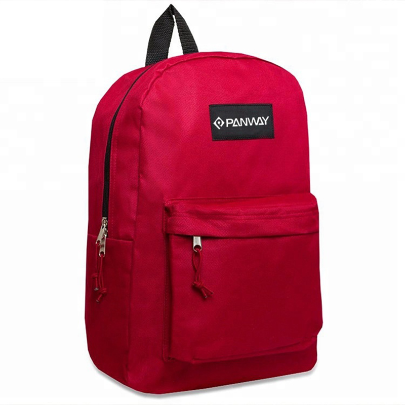 Promotion Good Quality Leisure Polyester bag Mens Backpack