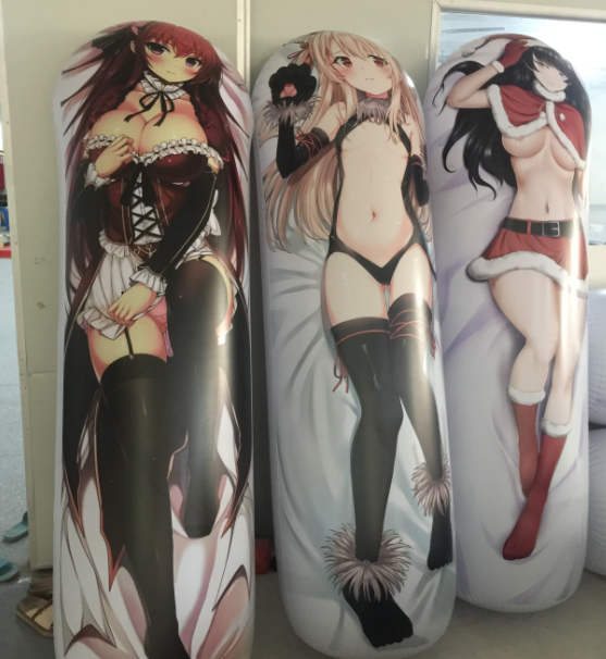 customized inflatable anime tumbler roly-poly