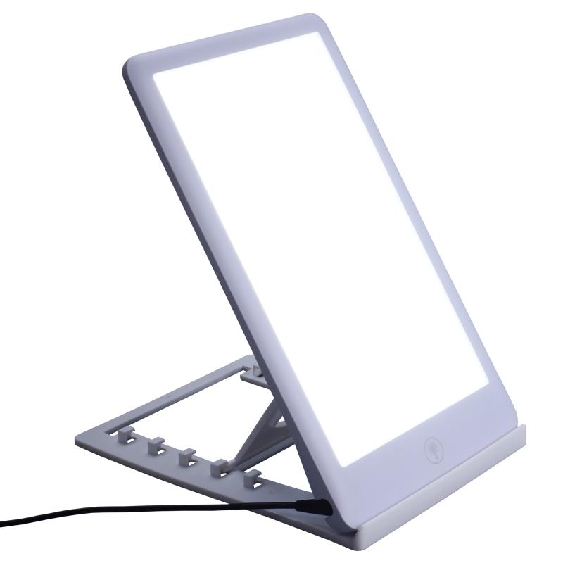Регулируемая интенсивность грустного света 6500k светодиодная терапевтическая лампа с защитой глаз, лампа настроения для восстановления энергии