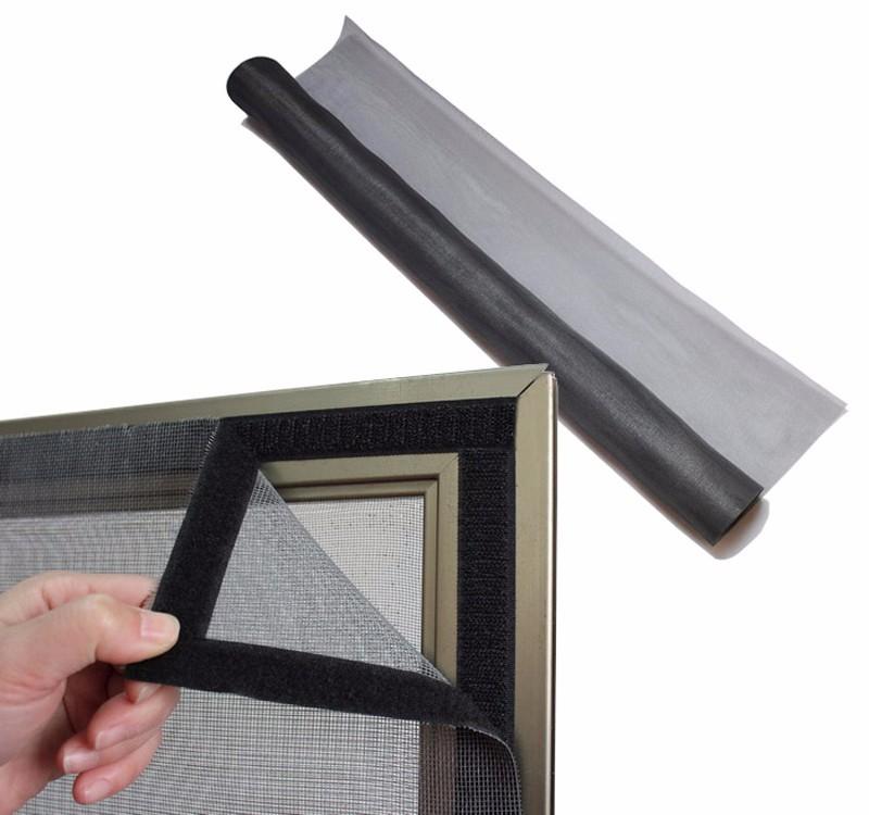 Lasting durable moisture resistance fiberglass mosquito window screen net