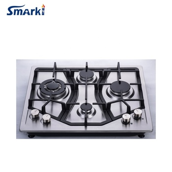 23 inch Stainless steel gas stove 4 burner Built-in gas Cooktop SS45815