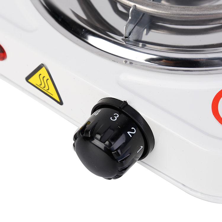Портативная электрическая плита для приготовления пищи, 1000 Вт, белая
