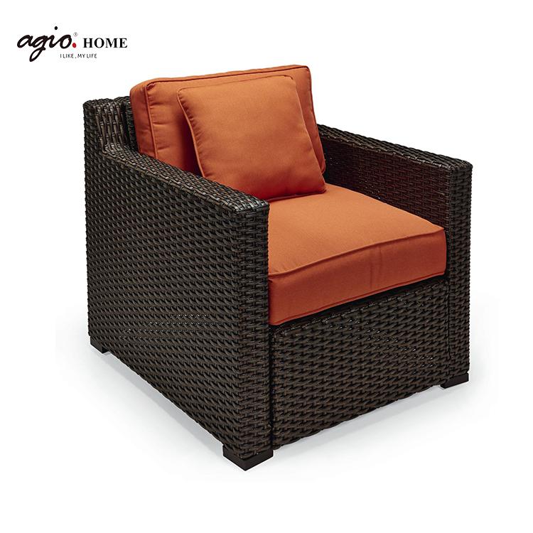 Роскошная мебель для отеля, плетеная мебель из ротанга для отдыха и сада, комплект диванов для патио