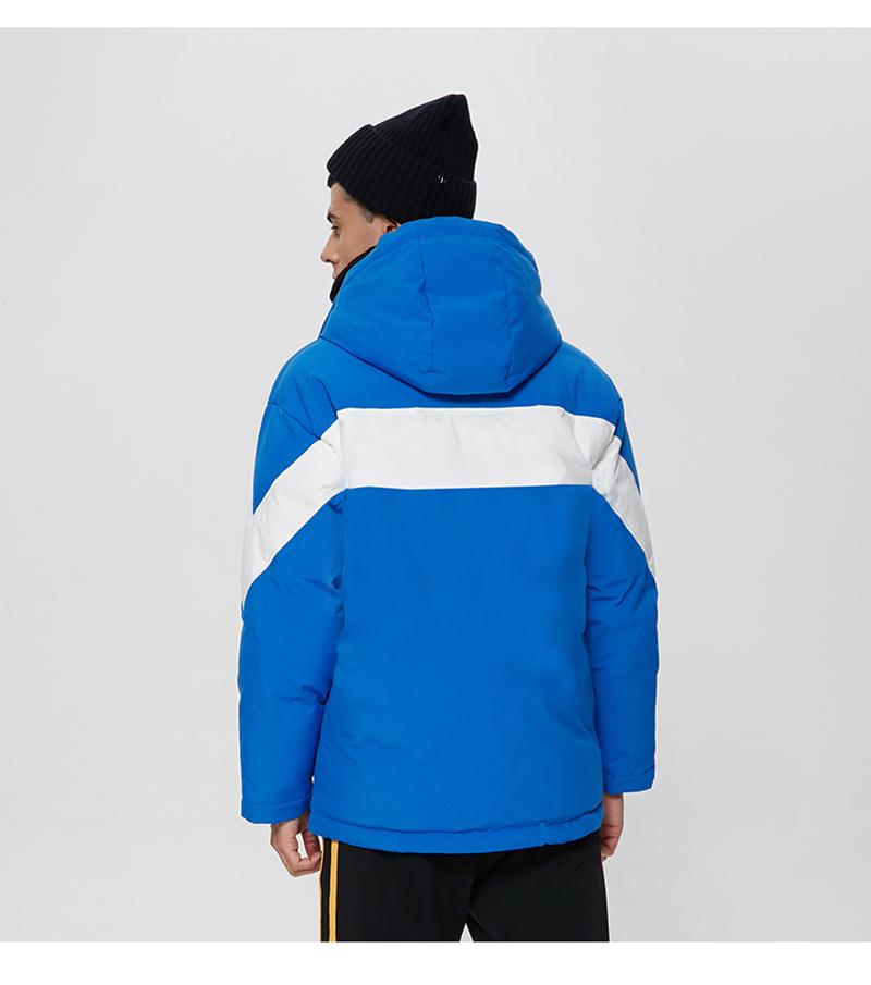 Пользовательская Мужская зимняя длинная команда Ультра Легкая спортивная пуховая баскетбольная куртка с капюшоном для мужчин с капюшоном