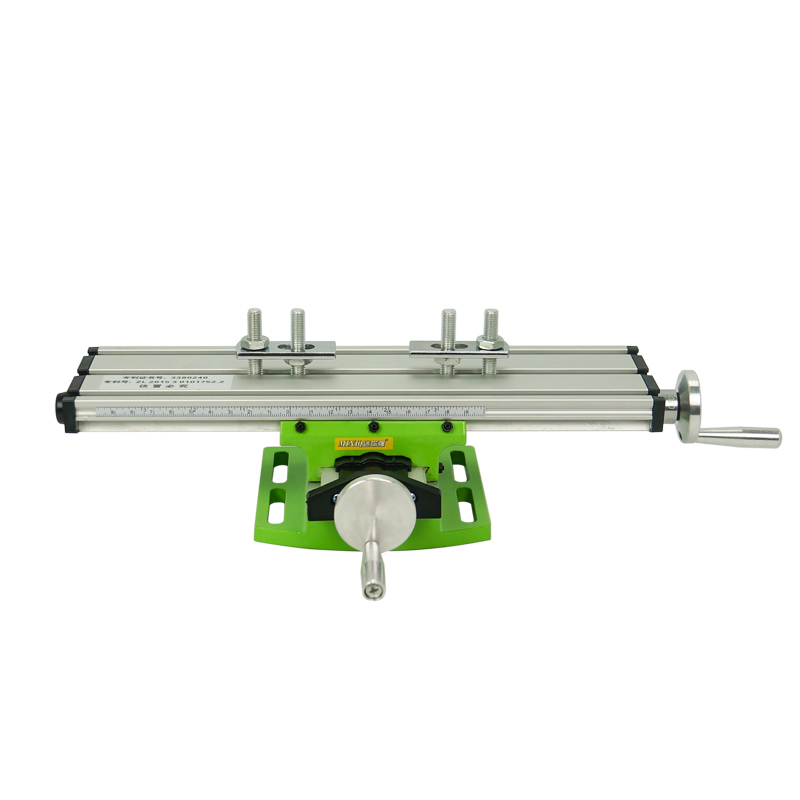 Miniature precision LY6300 multifunction Milling Machine Bench drill Vise Fixture worktable X Y-axis adjustment Coordinate table