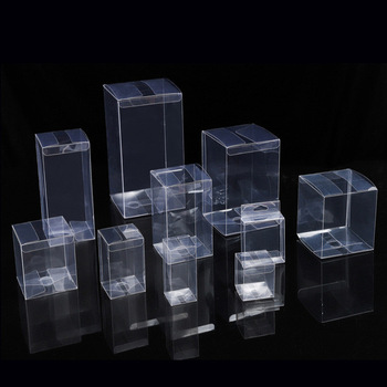 Free Custom Gift Acetate Folding Plastic Clear PVC Box