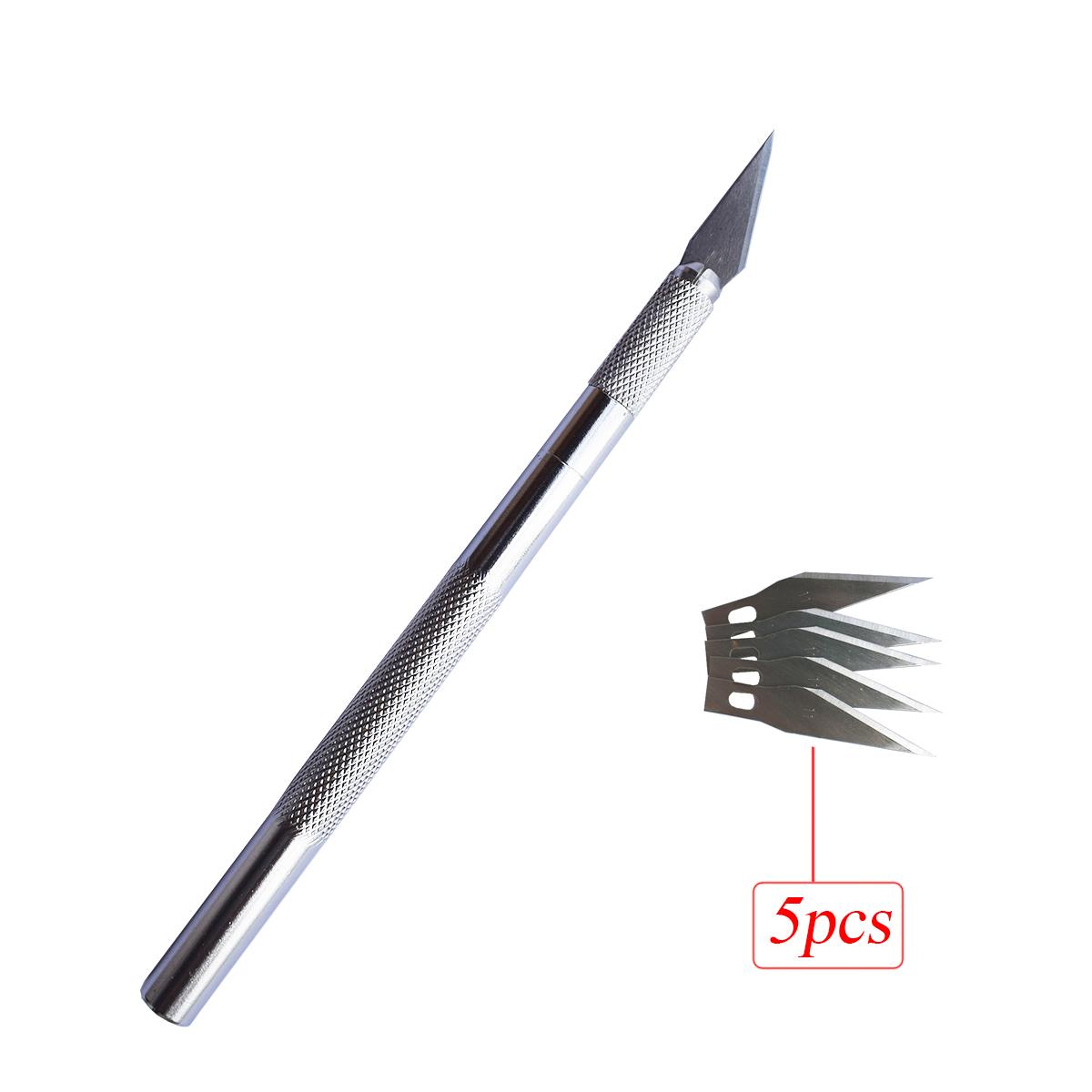 Точный нож для резьбы и рукоделия, нож для трафаретной резки для творчества, ремесла для творчества, хобби, ремесла E26