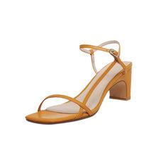 Женские сандалии на шнурках FEDONAS, классические туфли-лодочки на высоком каблуке с металлической пряжкой, лето 2020(Китай)