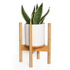High Quality Hot Sale ZUOLUN Solid Wood Floor-standing Retractable Plant Stand
