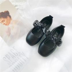 2021 детское праздничное платье высокого качества с бантом и галстуком-бабочкой принцесса мягкое дно strdent обувь MSgx-4