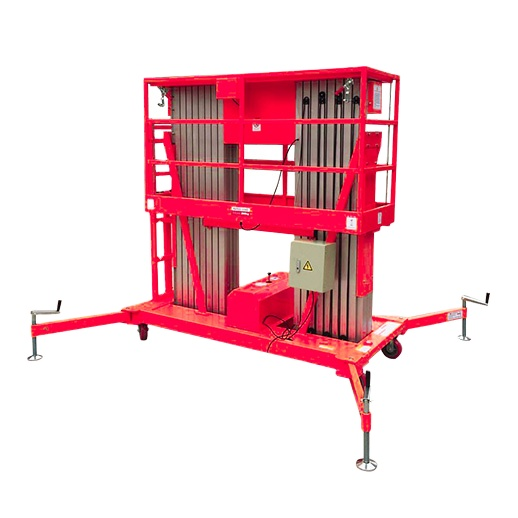 RED-LIFT 6000mm to 14000mm aluminum alloy electric aerial work platform truck