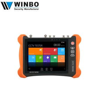 New 8 Inch Full Function Touch Screen H.265 4K 8MP Camera Tools Wifi CCTV Tester