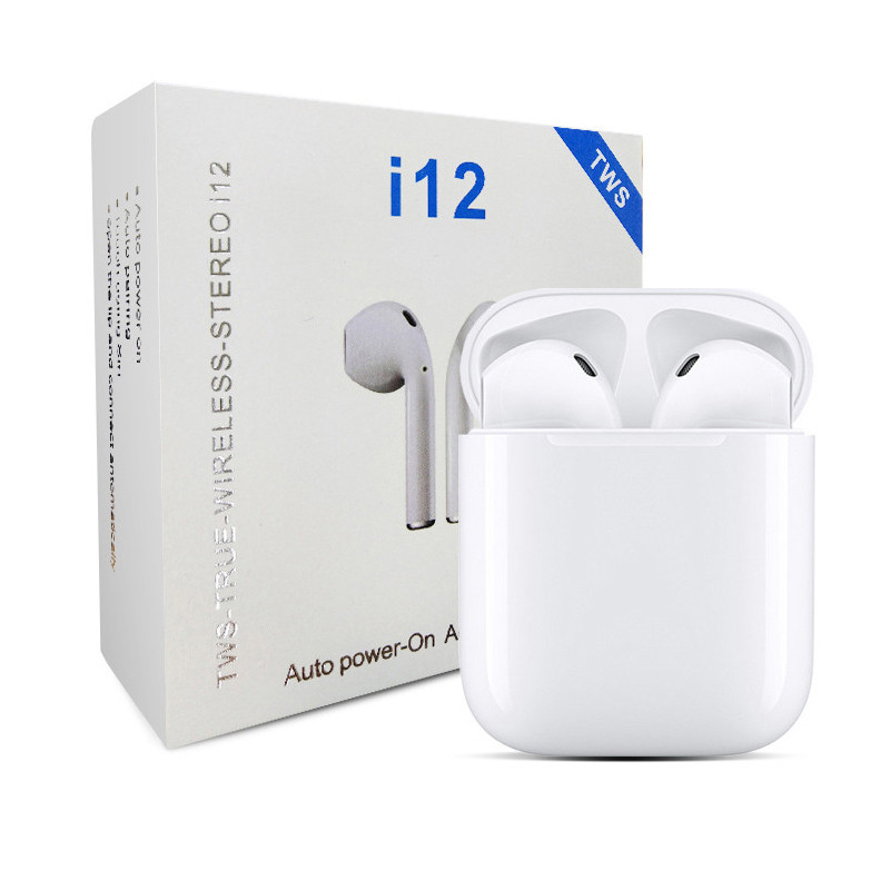 i12 tws bluetooth earbuds 5.0 wireless earphones Auriculares Air Ear pods Inpod i12 tws earphone - idealBuds Earphone | idealBuds.net