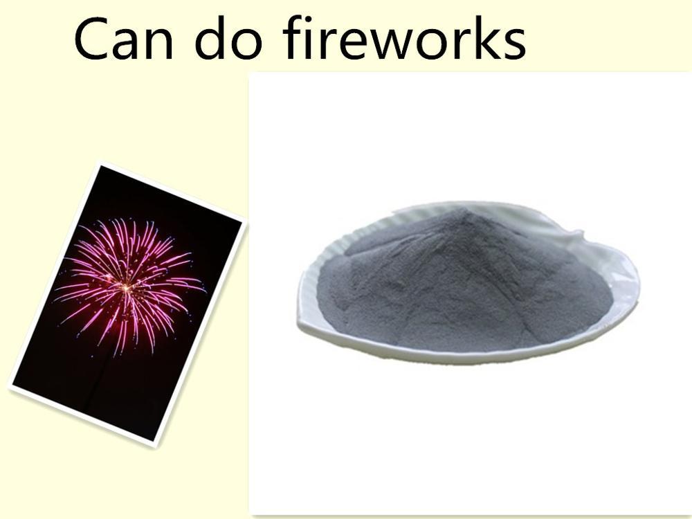 aluminum powder metallurgy alloy fireworks