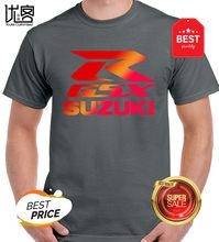 Мужская и женская футболка с коротким рукавом suzuki gsxr rr, 100% хлопок, Повседневная футболка с круглым вырезом и принтом(Китай)