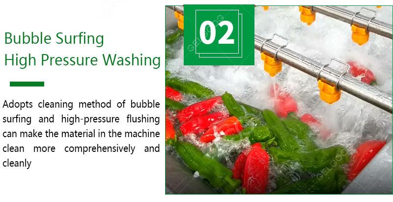 Vegetable Washing Machine Line