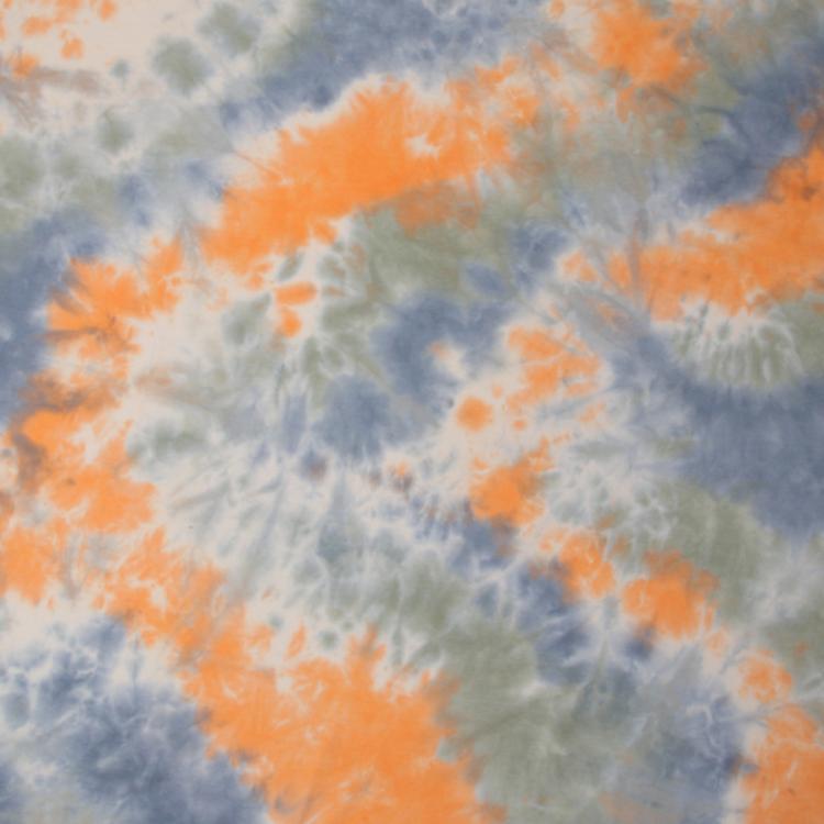 Fashion tie-dye pure cotton breathable T-shirt fabric