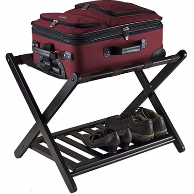 Bamcoo Stable Durable Suitcases Racks Foldable Baggage Holder