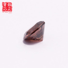 Stones Wholesale Round Brilliant Cut Brown Color CZ Loose Cubic Zirconia Stones For Jewelry